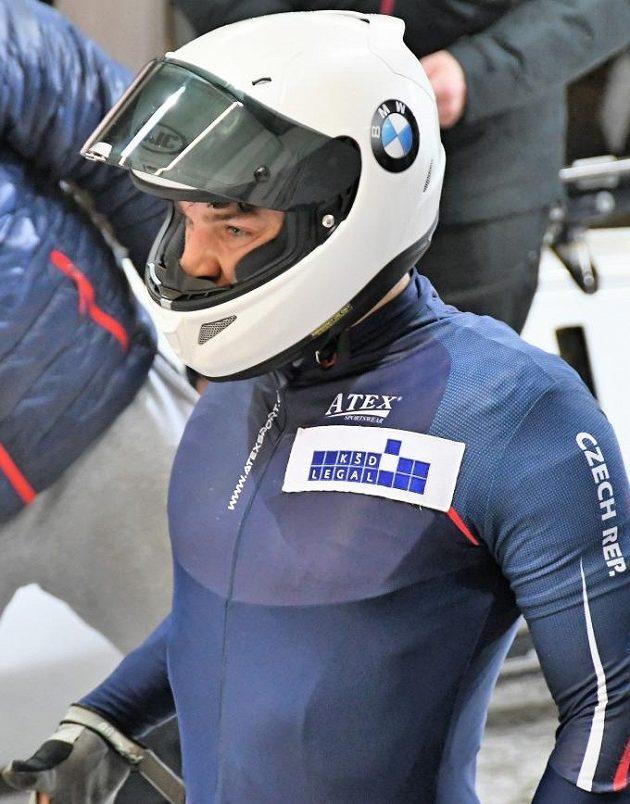 Jakub Nosek, člen české bobové reprezentace, který se jako brzdař Dominika Dvořáka představí na ZOH v závodě dvojbobů i čtyřbobů.
