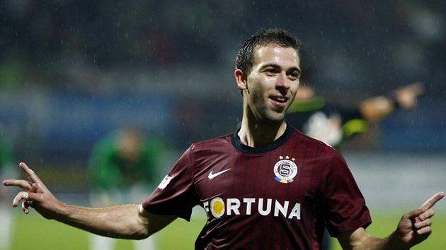 Sparťan Josef Hušbauer se stal hrdinou zápasu v Jablonci.