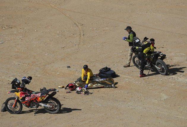 Paulo Goncalves tragickou nehodu nepřežil...