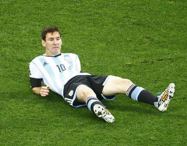 Hlavní argentinský trumf Lionel Messi se v semifinále prosazoval jen těžko.