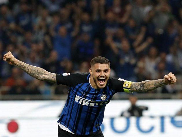 Mauro Icardi z Interu Milán se může radovat.