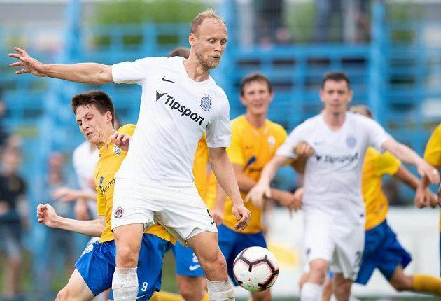 Semih Kaya znovu v dresu Sparty během přípravného utkání v Benešově.