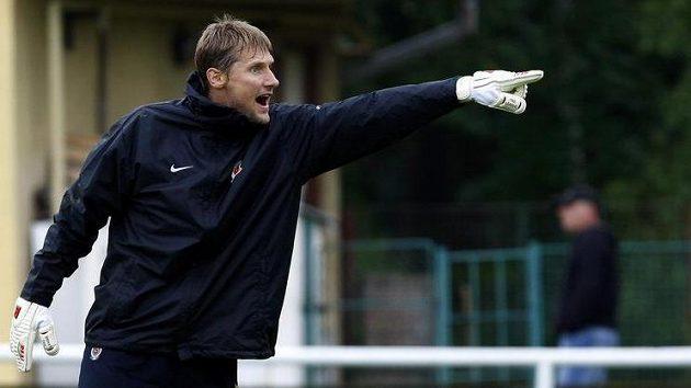 Daniel Zítka na soustředění fotbalistů Sparty