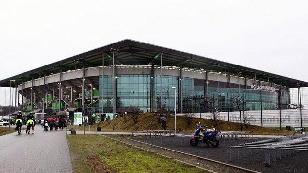 Wolksvagen arena, stadión fotbalistů Wolfsburgu.