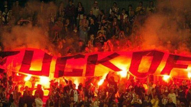 Fanoušci fotbalové Slavie