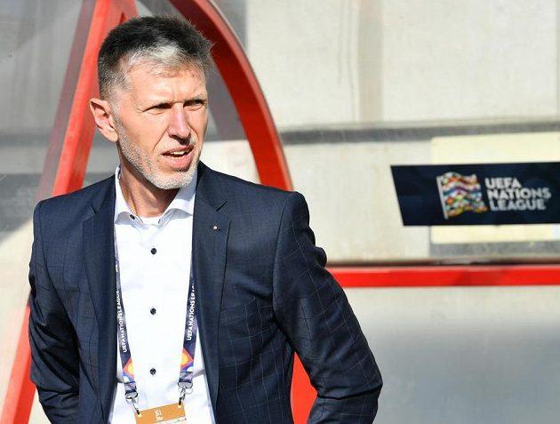 Jaroslav Šilhavý na lavičce národního týmu