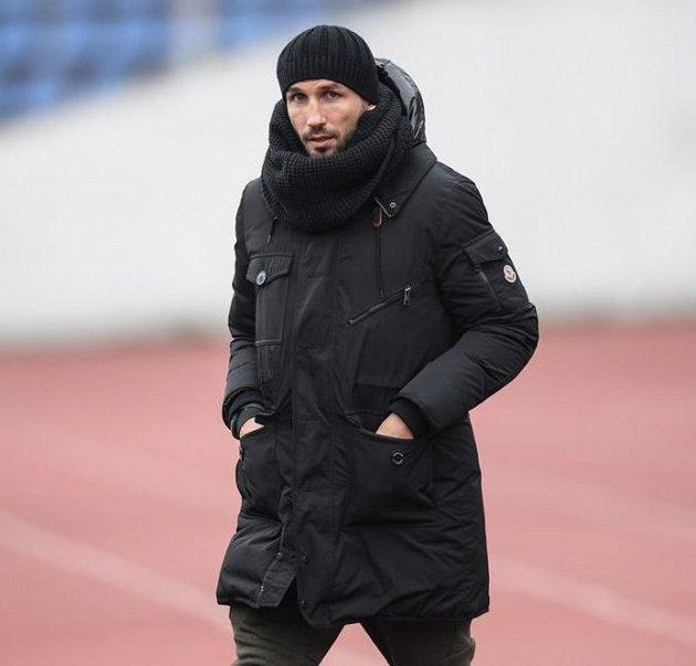 Tomáš Sivok z Českých Budějovic během přípravného utkání se Slavií.