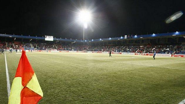 Stadión Viktorie Plzeň se chystá na pohárový duel se Schalke 04.