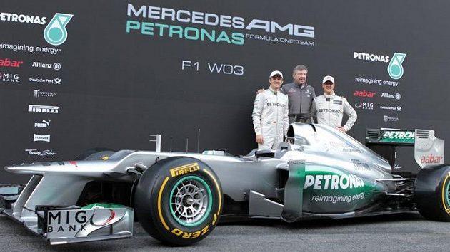 Vůz stáje Mercedes GP pro sezónu 2012.