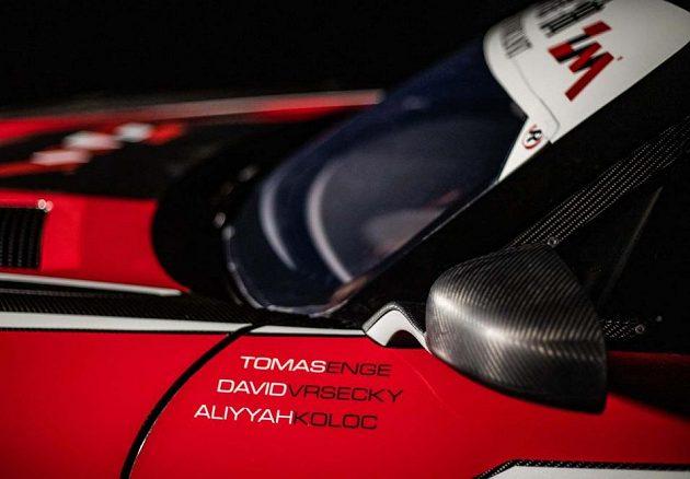 Buggyra bude mít k dispozici nový speciál Mercedes Benz AMG GT3.