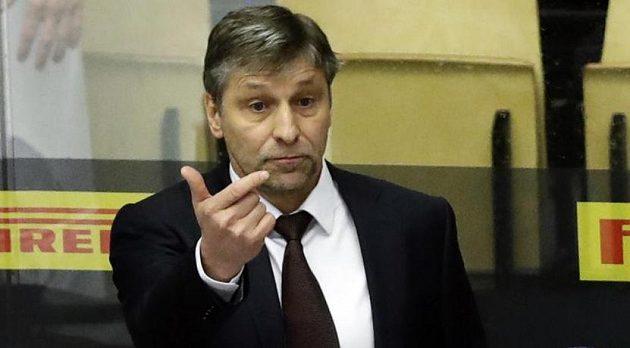 Trenér Josef Jandač na střídačce národního týmu po MS končí.