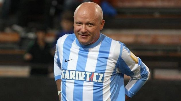 Ivan Hašek při vánočním turnaji internacionálů.
