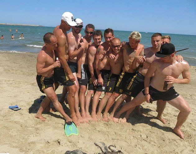 Klokani zanechali ve žhavém sicilském písku nesmazatelné otisky šikovných nohou...