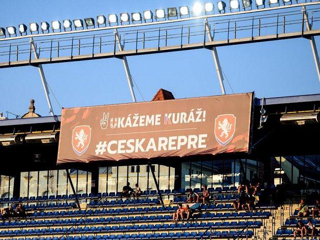 """""""Ukážeme kuráž"""", motto českého týmu pro EURO."""