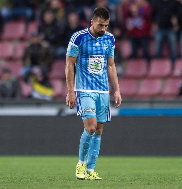Vyloučený Milan Baroš.