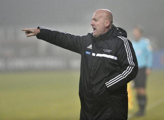Trenér Jihlavy Michal Bílek.