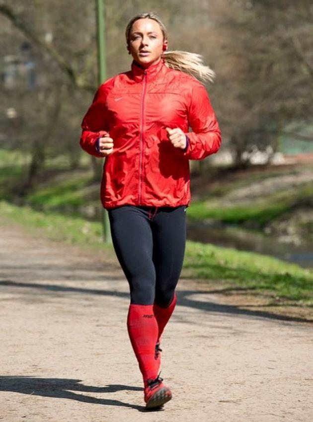 Kulturistka Kateřina Kyptová a běhání jde dohromady.