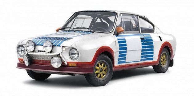 Škoda 130 RS, s nímž před čtyřmi desetiletími triumfovali Václav Blahna a navigátor Lubislav Hlávka na Rallye Monte Carlo ve třídě do 1 300 ccm.