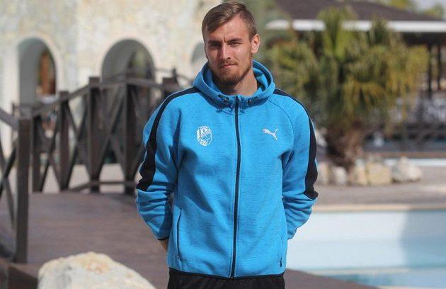 Plzenský fotbalový obr Tomáš Chorý na soustředění s Viktorií.