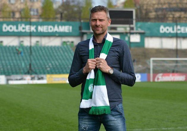 Trenér Martin Hašek už je doma v Ďolíčku.