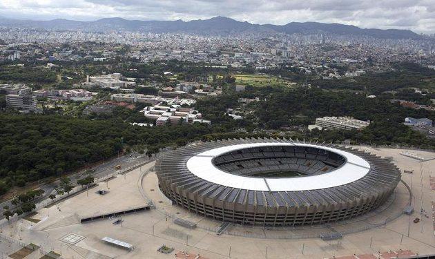 Estádio Mineirao v Belo Horizonte je svatostánkem Cruzeira.
