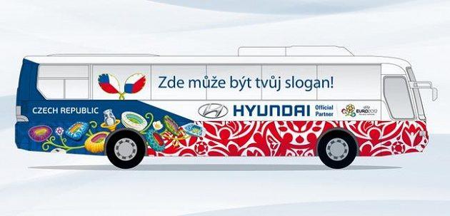 Tak vypadá autobus českého týmu, chybí mu jen motivační heslo.