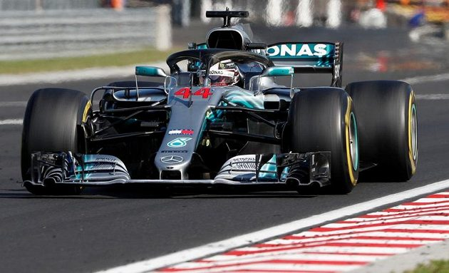 Lewis Hamilton neměl na Hungaroringu žádný problém.