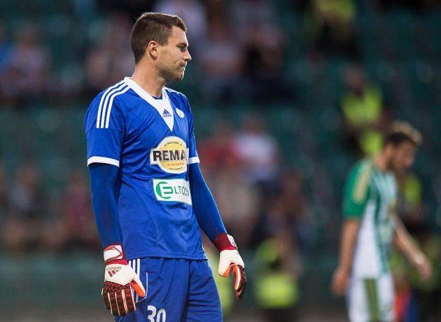 Brankář Tomáš Fryšták uchránil Bohemians od vyšší prohry.