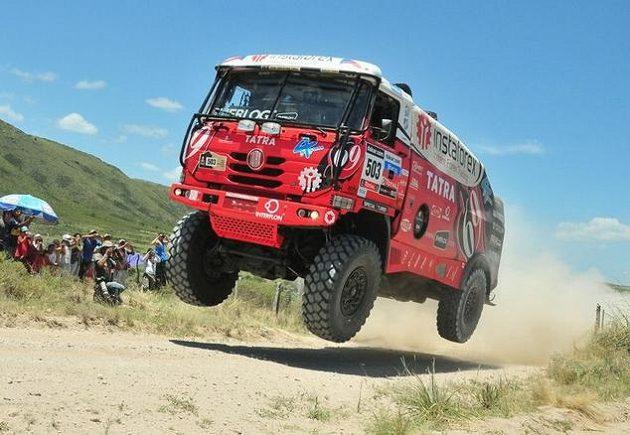 Aleš Loprais poprvé dokončil jihoamerický Dakar.
