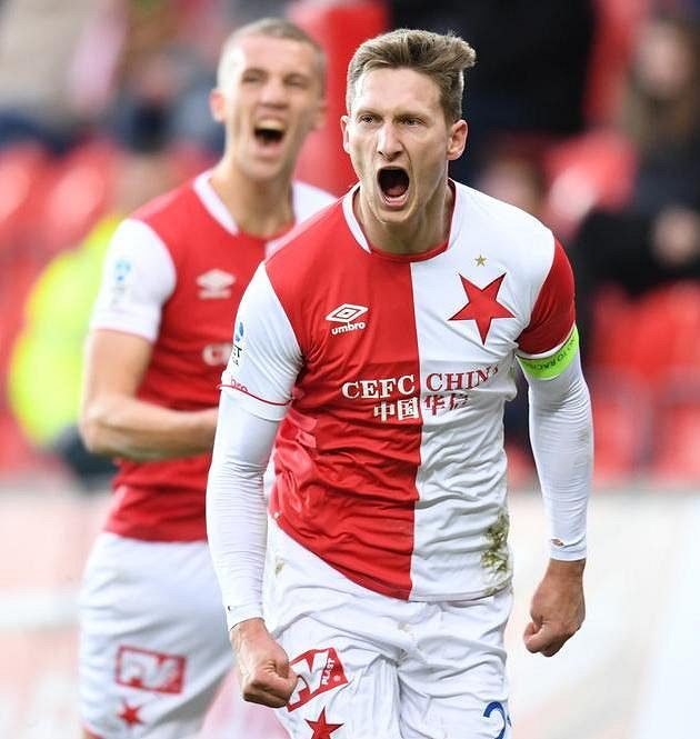 Milan Škoda proti Zlínu nejdřív neproměnil penaltu, za chvíli však už oslavoval gól na 1:1.