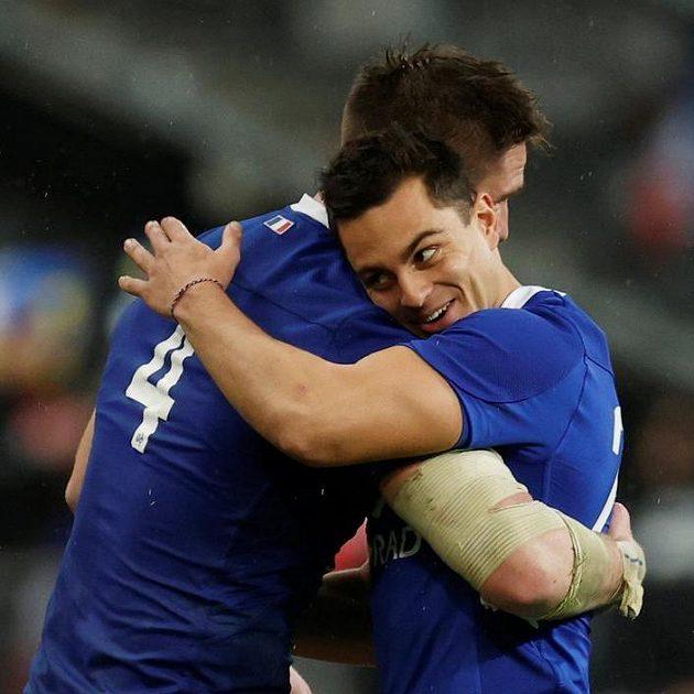 Francouzi Bernard le Roux a Arthur Vincent slavý sladké vítězství...