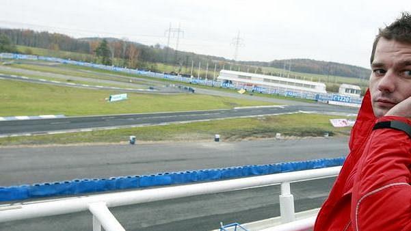 Francouzský pilot rallye Sébastien Loeb v Sosnové