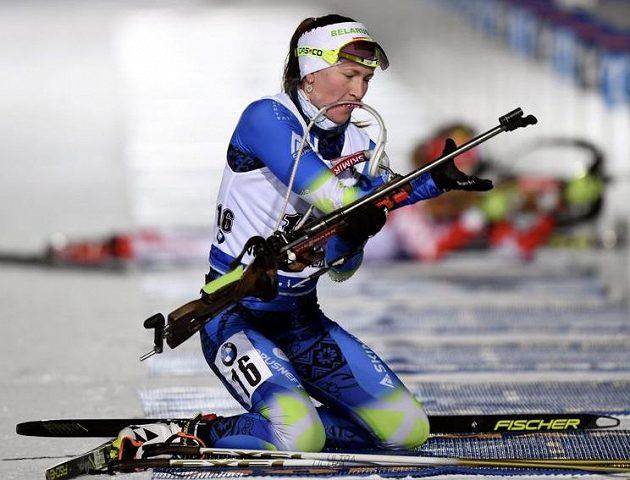 Běloruská biatlonistka Darja Domračevová ovládla sprint na 7,5 km v rámci Světového poháru v Kontiolahti.