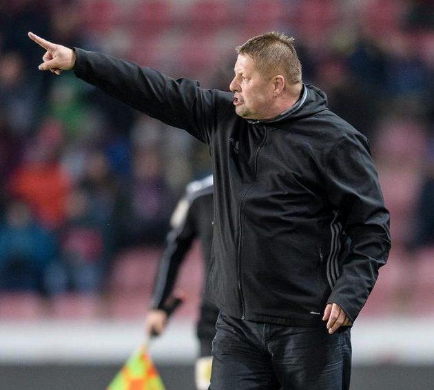 Trenér Mladé Boleslavi Petr Čuhel si duel na Spartě vytrpěl...