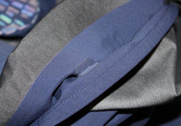 Běžecká bunda Nike HyperShield Flash: I ten nejmenší šev je detailně zpracován a zpevněn.