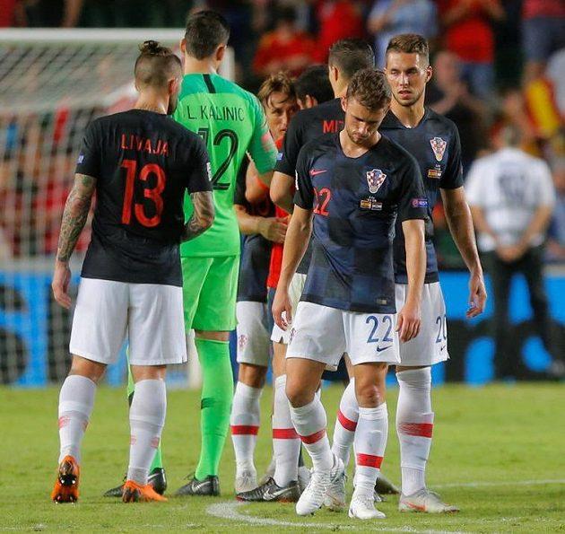 Zdrcení Chorvaté po rekordním výprasku.