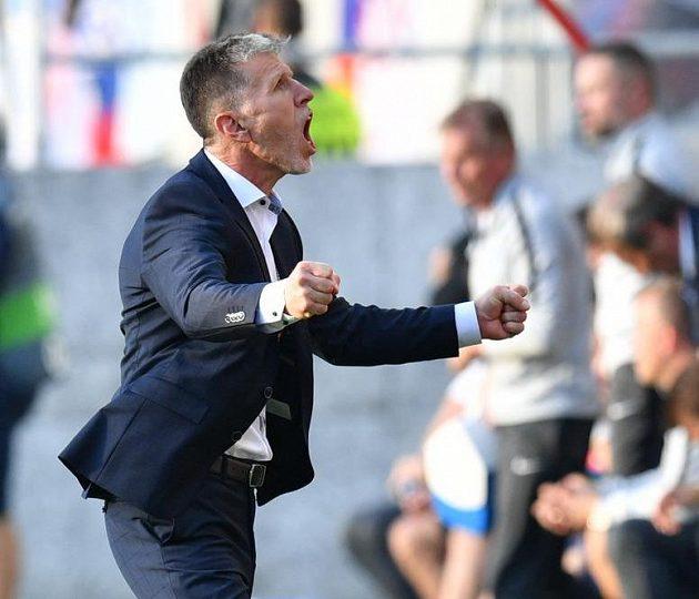 Jaroslav Šilhavý si mohl užívat první vítězství v pozici reprezentačního kouče