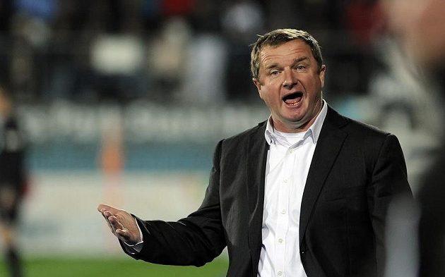 Trenér Plzně Pavel Vrba po inkasovaném gólu.