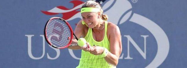 Úsilí Petry Kvitové na US Open.