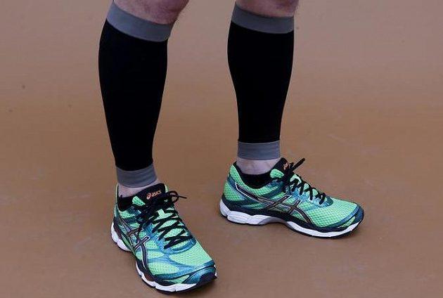 Kompresní návleky pro běžce, které pomáhájí při běhu a slouží i k rychlejší regeneraci.