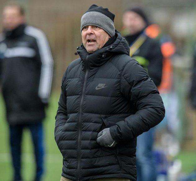 Nový trenér Jablonce Petr Rada během utkání zimní Tipsport ligy.