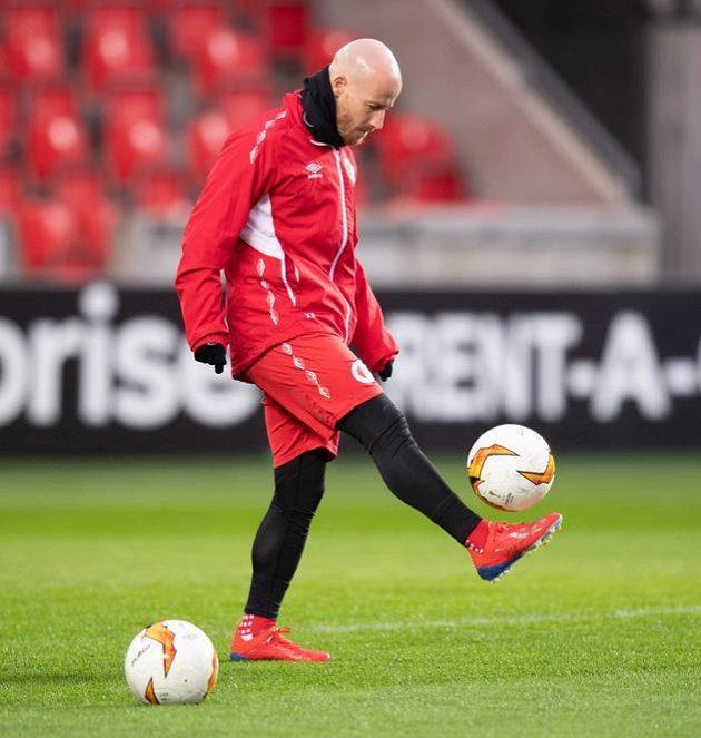 Miroslav Stoch během tréninku