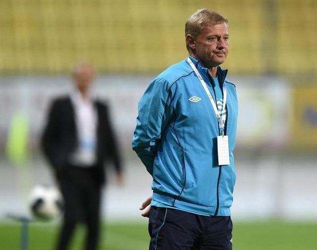 Teplický trenér Zdeněk Ščasný.