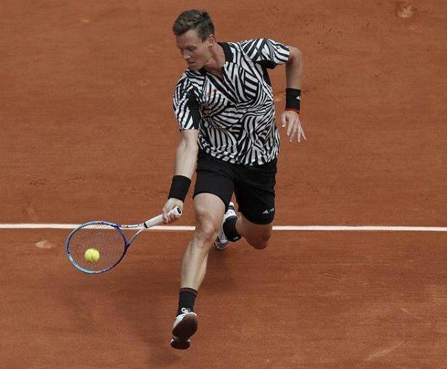 Český tenista Tomáš berdych porazil na Roland Garros Málika Džazírího.