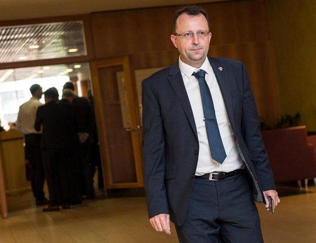 Předseda českého fotbalu Martin Malík.