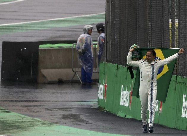 Brazilská legenda Felipe Massa odchází...