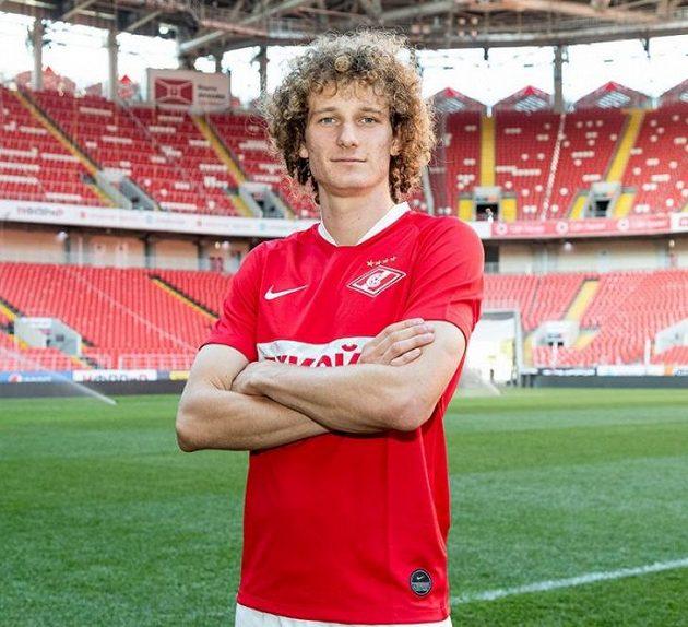 Alex Král v dresu Spartaku Moskva