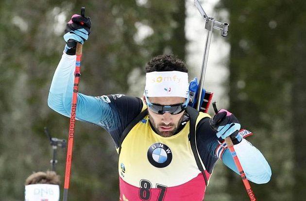 Francouzský biatlonista Martin Fourcade zvládl skvěle vytrvalostní závod Světového poháru v Pokljuce.