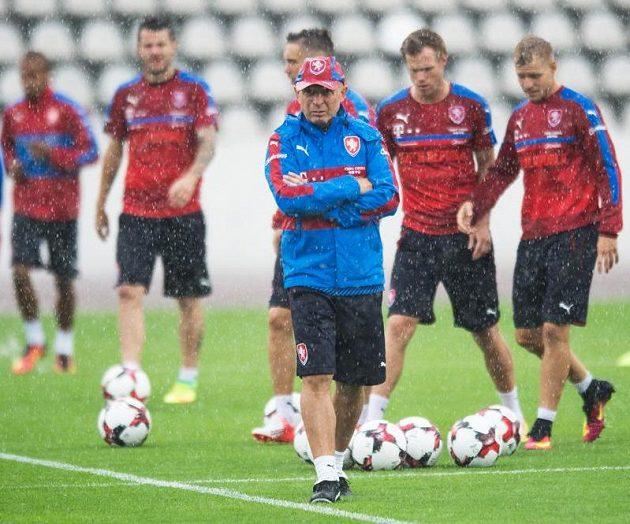 Karla Jarolíma uvítal na prvním tréninku silný déšť...