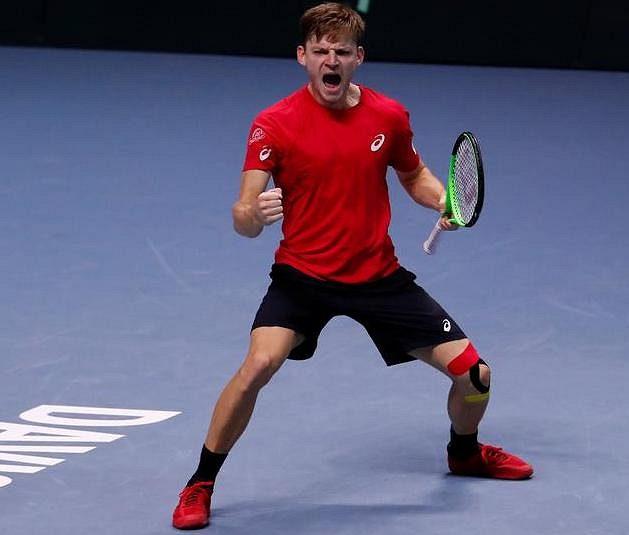 David Goffin zajistil Belgii ve finále Davis Cupu první bod.